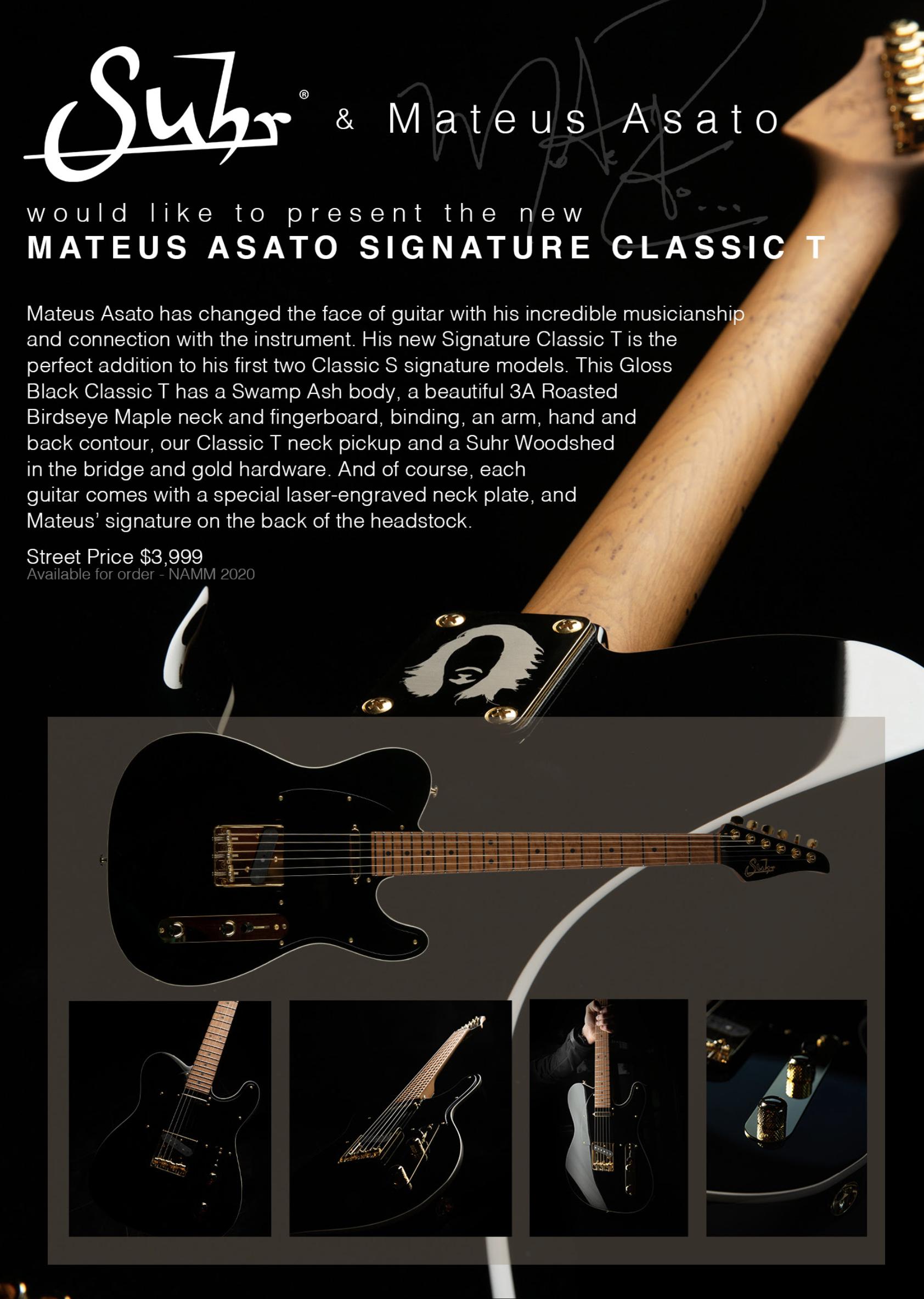 SUHR MATEUS ASATO Signature T
