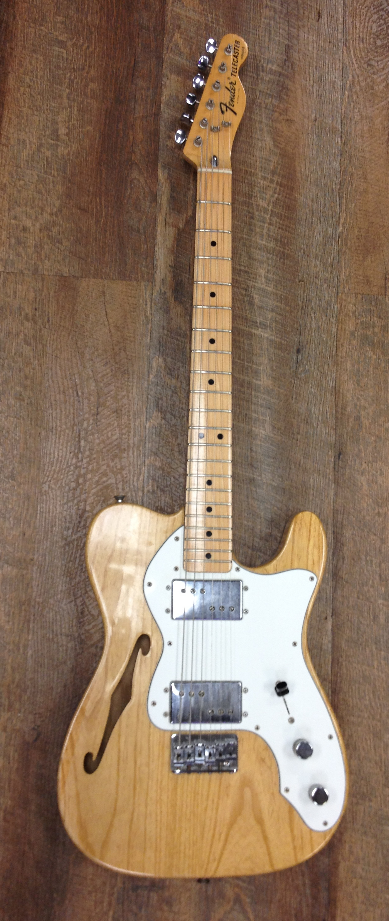1976 FENDER TELE THINLINE SOLD