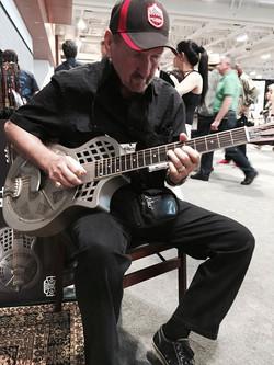 James Burton & Republic Guitar
