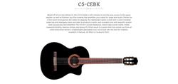 Cordoba C5-CE BK  Dealer Canada