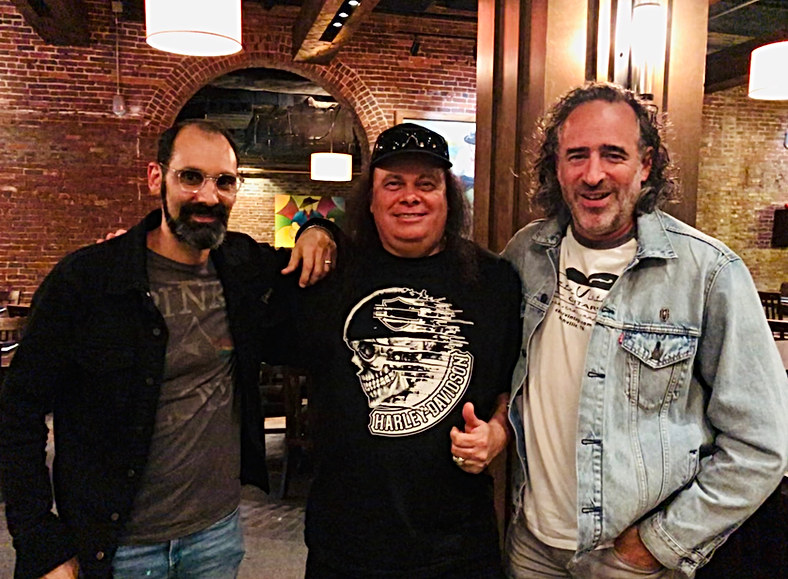 Dinner with Gibson CEO JC Curleigh and Gibson CMO Cesar Gueikian