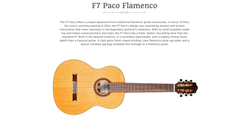 Cordoba F7 Paco Flamenco Canada