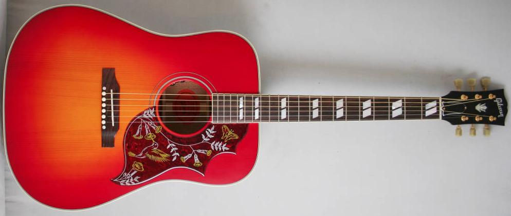 Gibson Hummingbird Red Adirondack Spruce LTD