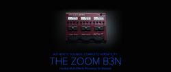 Zoom B3N Bass Multi-Effects