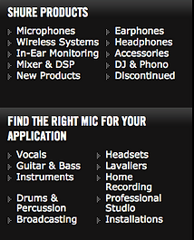 shure, microphones, in, ear, monitors, mixer, earphones, headphones, best, price,