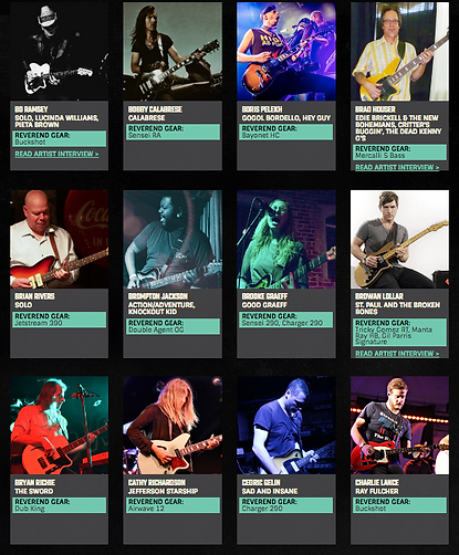 Reverend Guitars Pro Sales