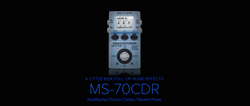 Zoom MultiStomp Effects MS-70CDR