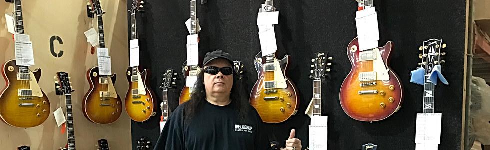 Glen at Gibson Custom Shop Nashville