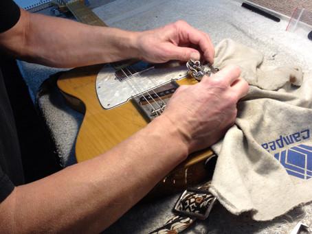 Bates Motel Guitar