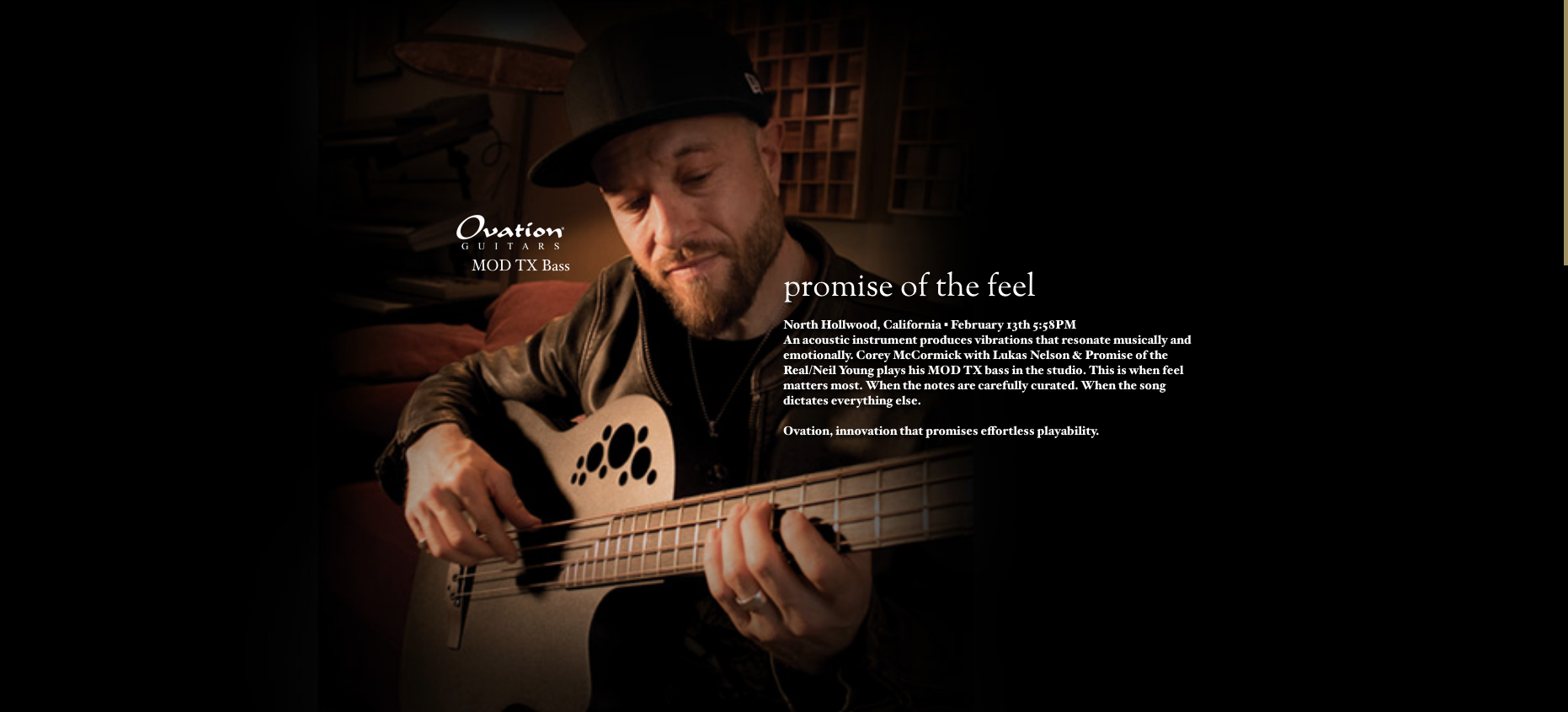 Ovation MOD TX Bass
