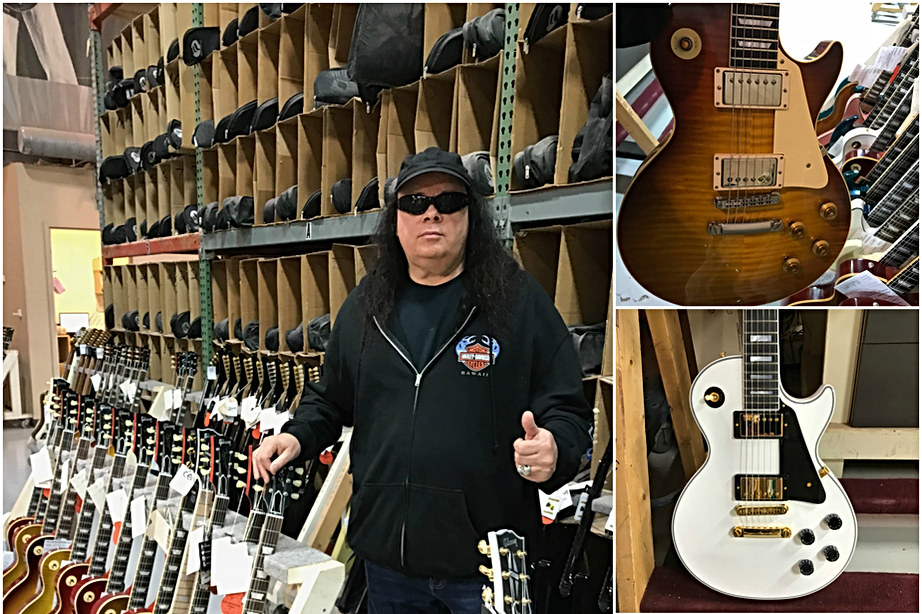 Glen at Gibson Custom Shop Nashville