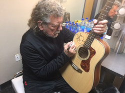 Robert Plant Guild Signed Guitar From Westcoast Guitars and Guild Guitars