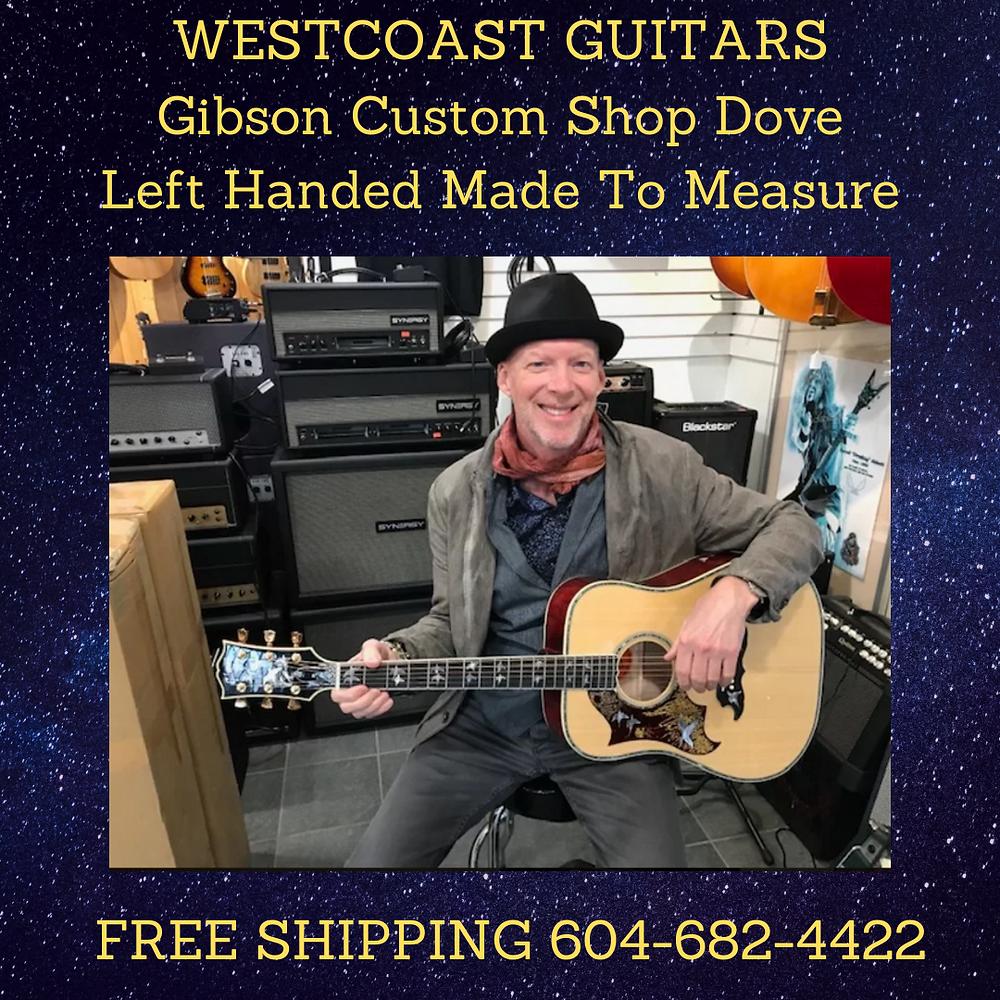 Left Hand Gibson Custom Shop Dove Order Your Dream Left Handed Gibson Guitar 604 6824422