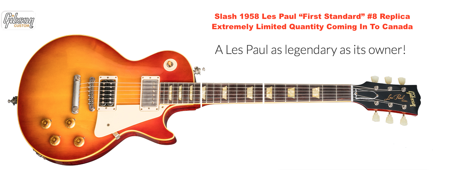 Slash 1958 Replica Gibson Les Paul Standard