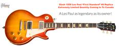Slash 1958 Replica Gibson Les Paul Standard