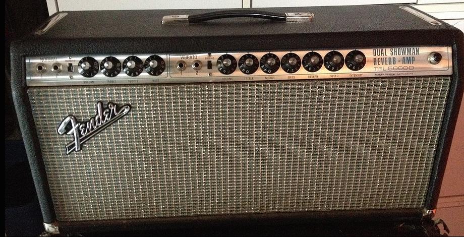 60s Fender Dual Showman Reverb