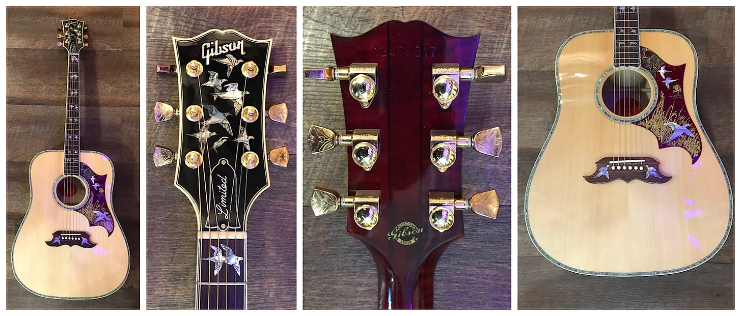 2018 Gibson Doves In Flight Ltd. Only 40