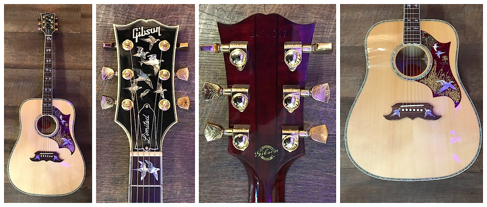 SOLD 2018 Gibson Doves In Flight Ltd. Only 40 Made