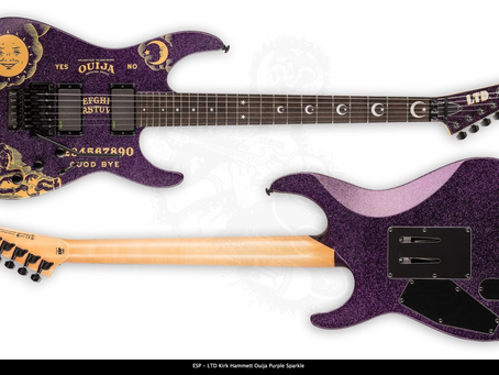 ESP LTD Kirk Hammett Ouija Dealer Canada