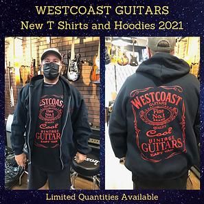 Westcoast Guitars T Shirts and Hoodies 2021