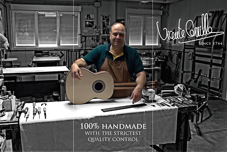 Vicente Carrillo Made In Spain Guitars