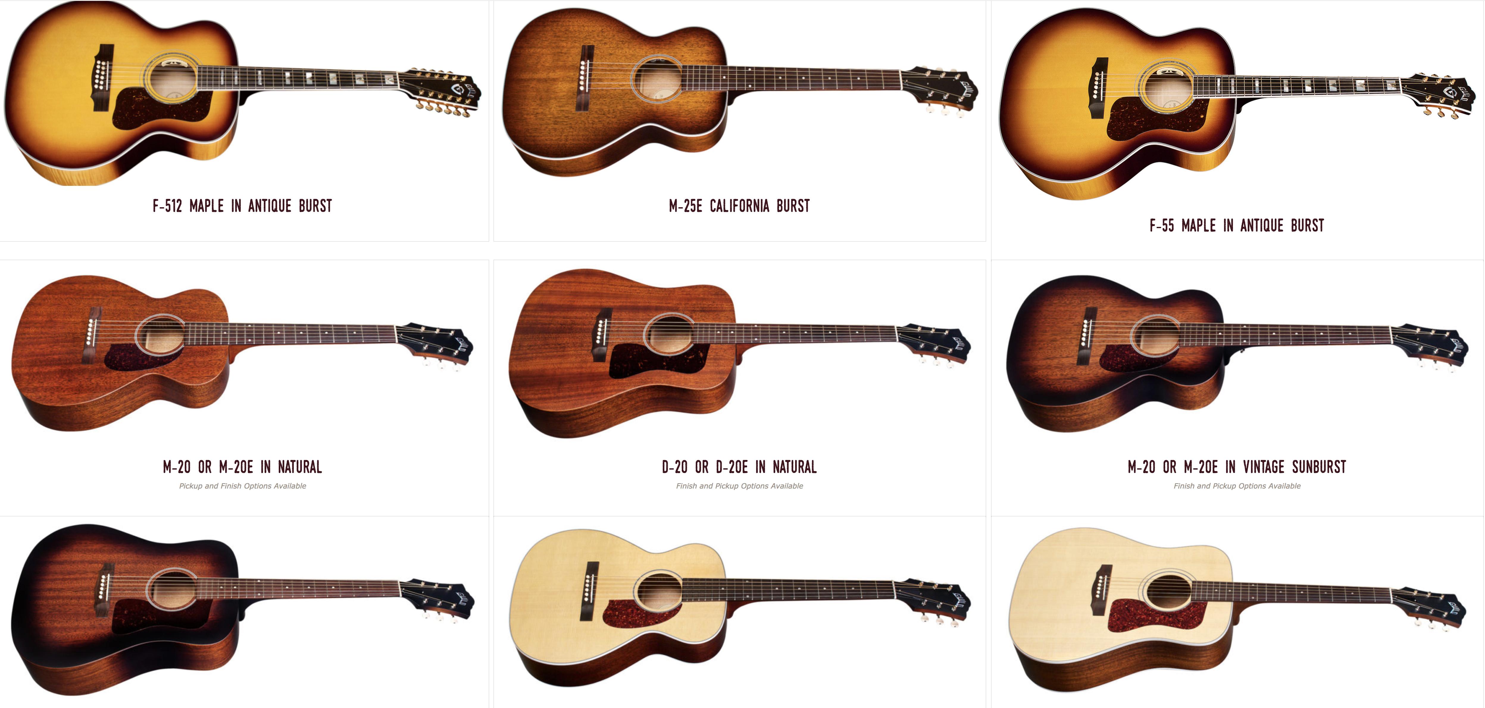 Guild USA Guitars Canada Dealer