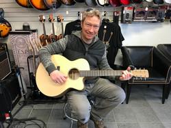 Ed Bond Latest Halcyon OM at Westcoast Guitars
