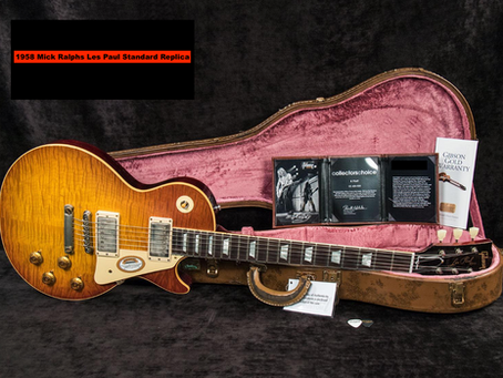 Gibson Custom Shop Mick Ralphs 1958 Les Paul Standard At Westcoast Guitars