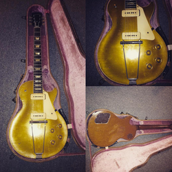 1952 Gibson Les Paul Goldtop INQUIRE