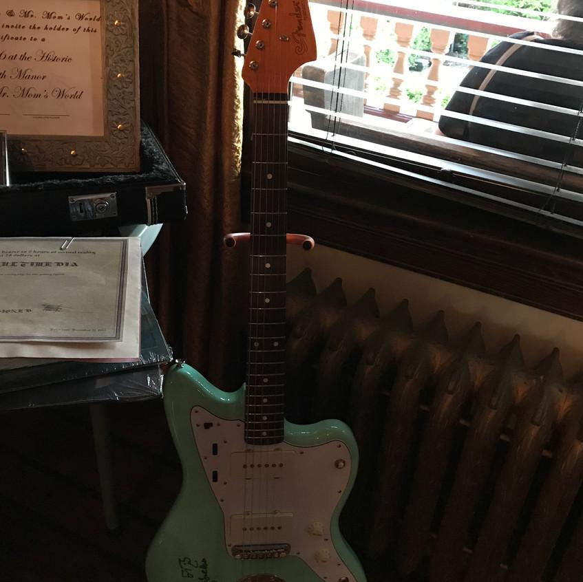 Elvis Costello Signed Jazzmaster