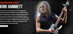 ESP KIrk Hammett Dealer Canada