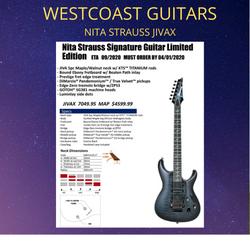 Nita Strauss Jivax Ltd Edition Last Chance To Order