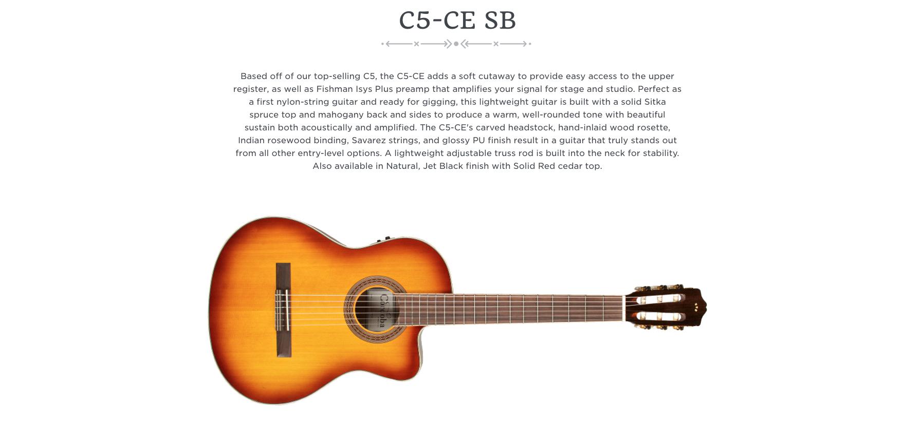 Cordoba C5-CE SB  Dealer Canada