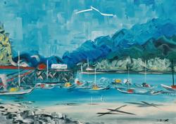 """Jozsef Burge """"Horseshoe Bay """""""