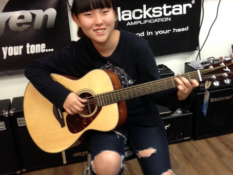 Pop Star from China Performance at Westcoast Guitars !