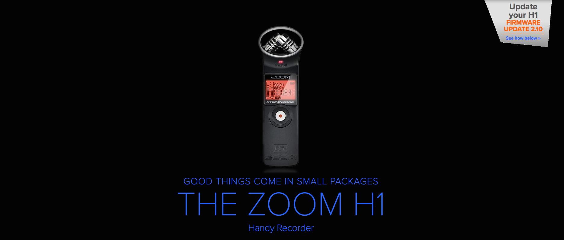 Zoom H1 Canada Dealer