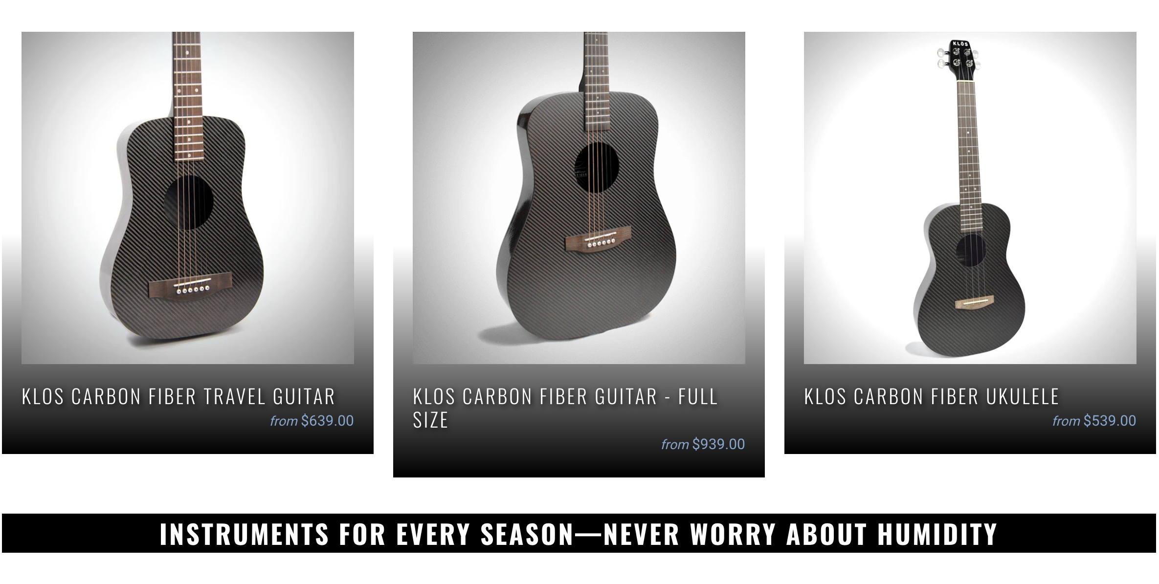 Klos Instruments For Every Season