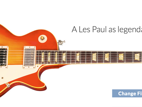 Slash 1958 Limited Edition Les Paul Standard at Westcoast Guitars Canada