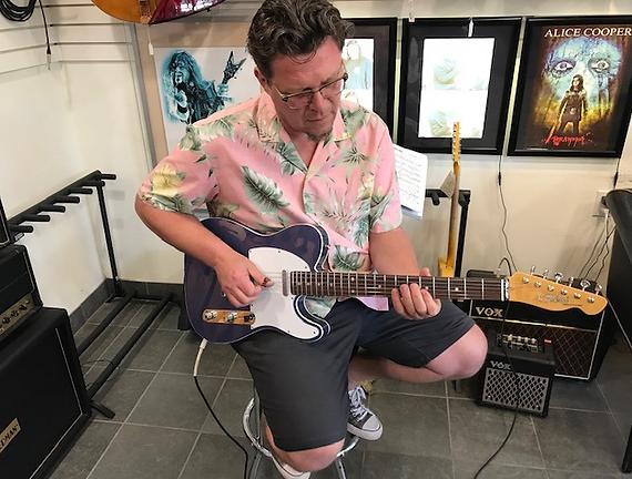 Paul Pigat Rockin' A Tokai at Westcoast