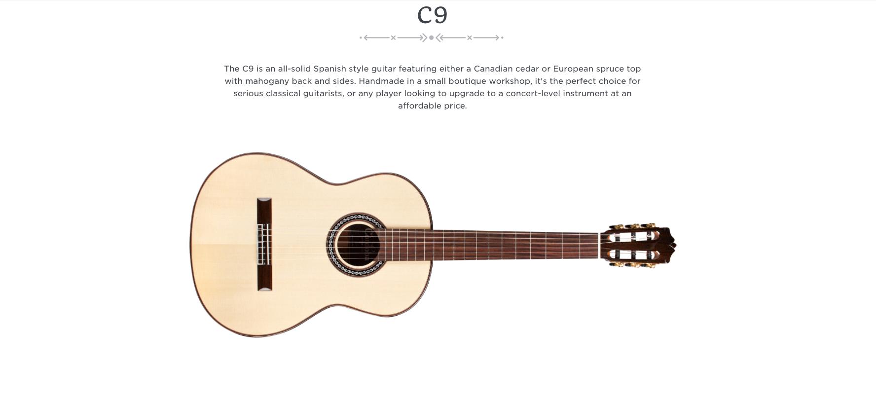 Cordoba C9  Dealer Canada