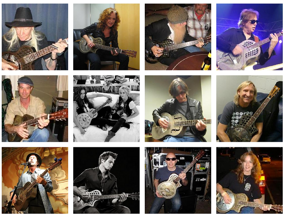 johnny, winter, james, cotton, republic, resonator, guitar, best, dealer, canada,