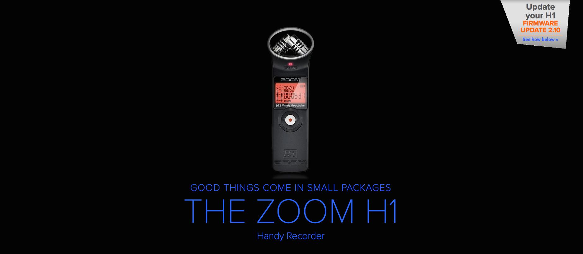 Zoom H1 Dealer Canada