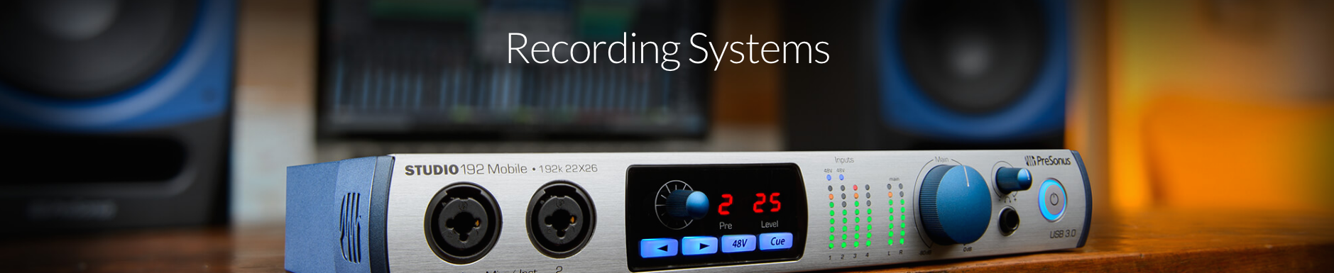 Presonus Recording Systems Dealer