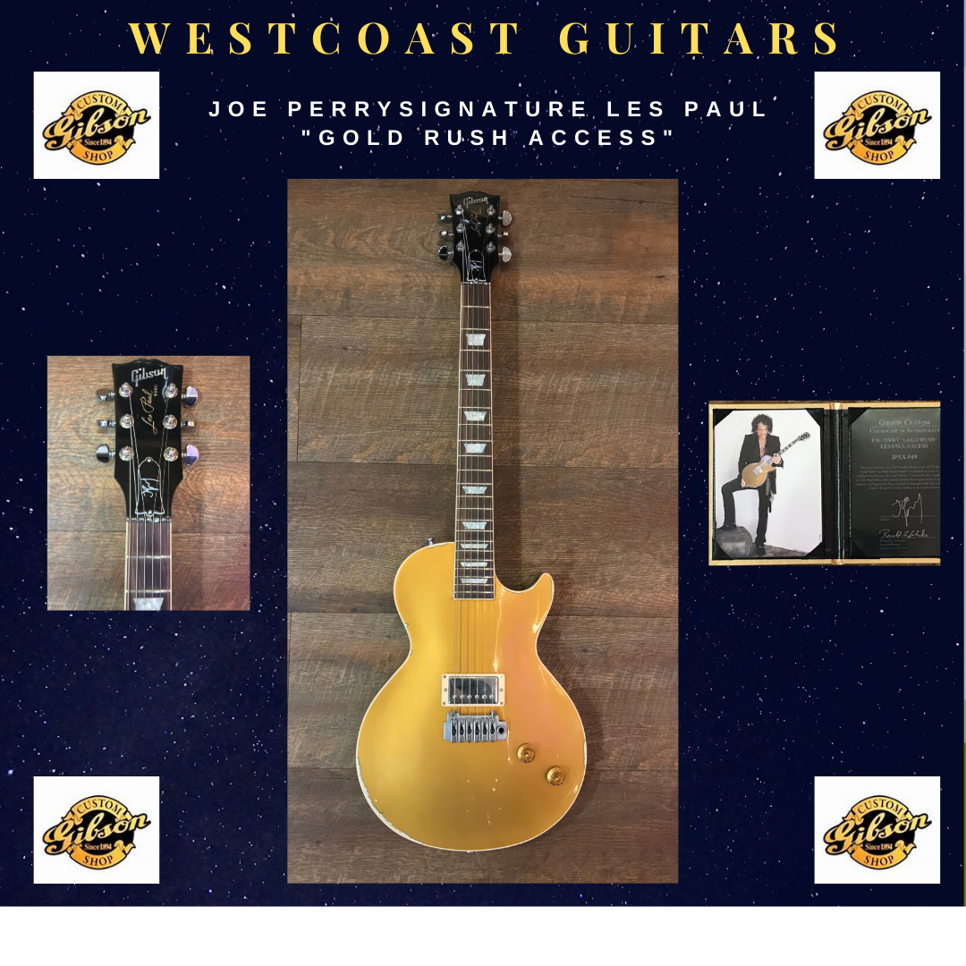 Gibson Joe Perry Signature Gold Rush Acc