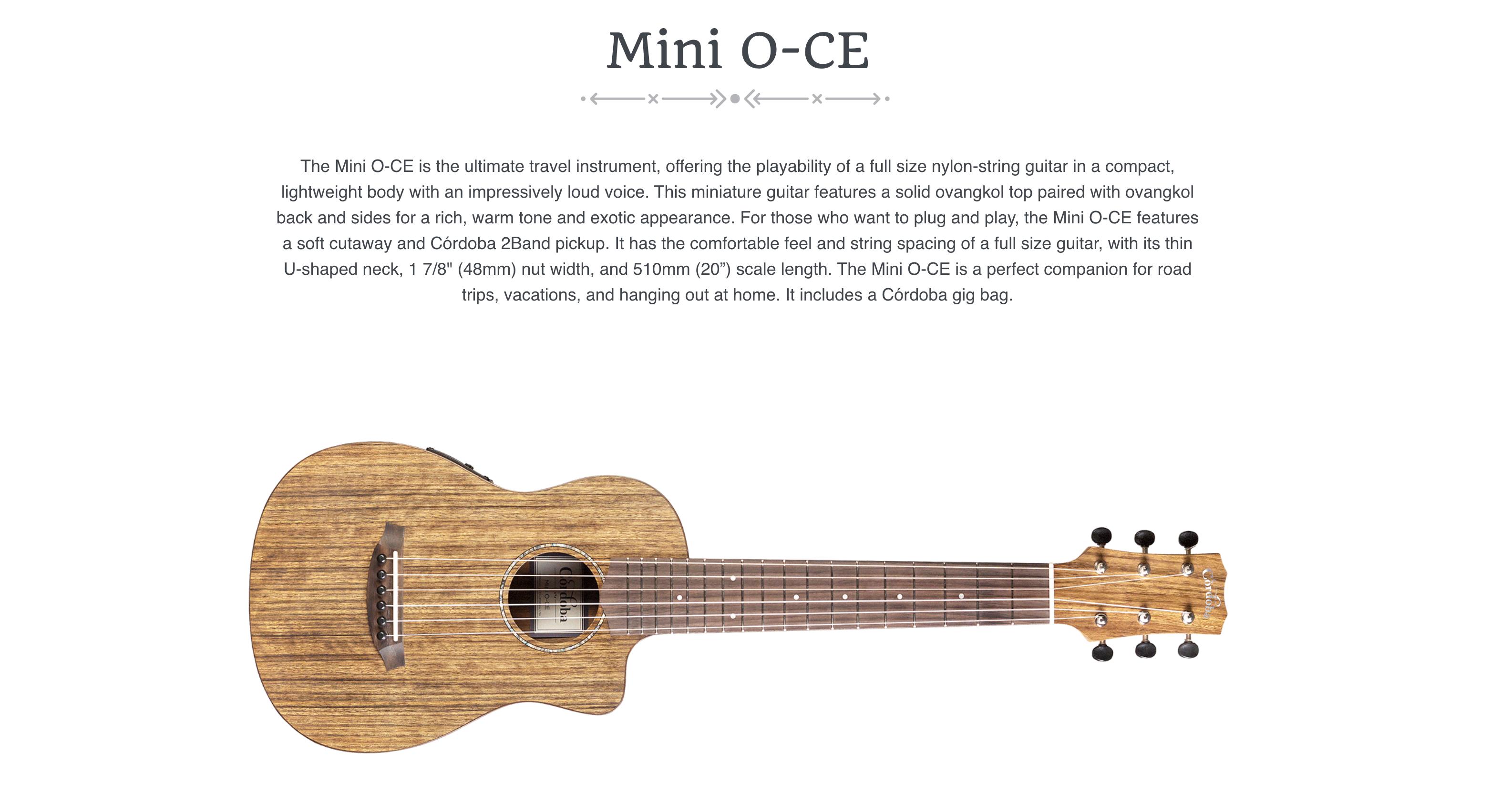 Cordoba Mini O-CE