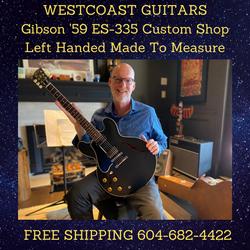 Gibson '59 Custom Shop Lefty Made To Measure