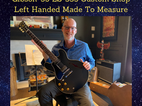Gibson Guitars For Left Handed Players
