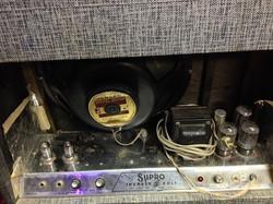 Vintage Supro Thunderbolt Back