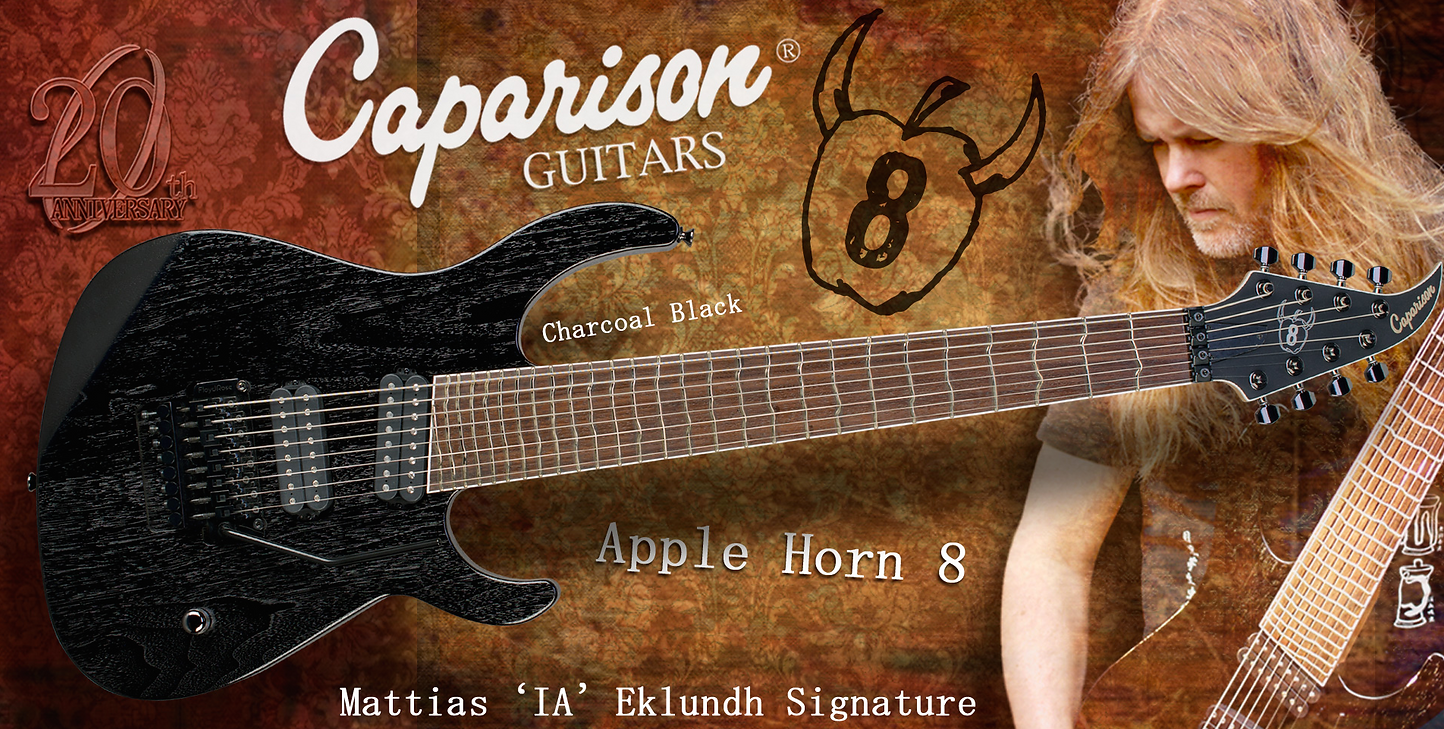 Caparison, guitars, dealer, canada, best, online, quality, price, horus, M3, Apple, Horn, 8,