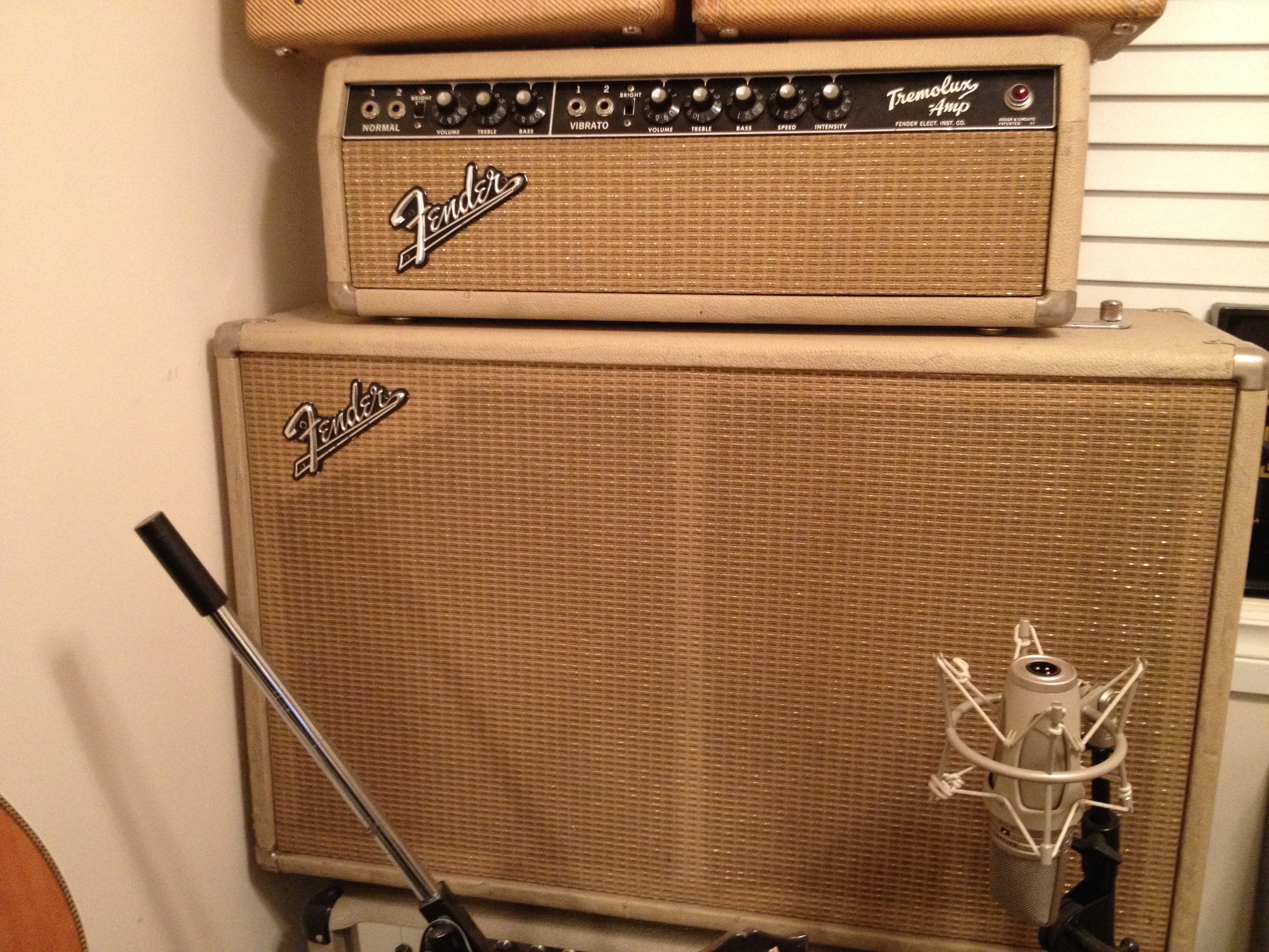 Fender Tremolux Blonde